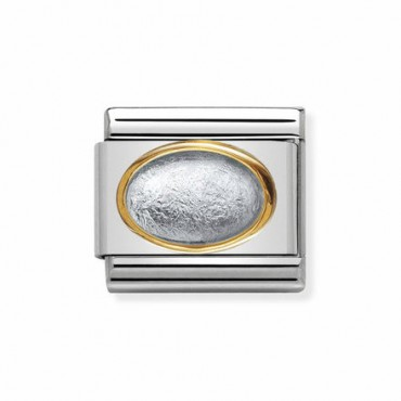 Link Piedra Color Plata