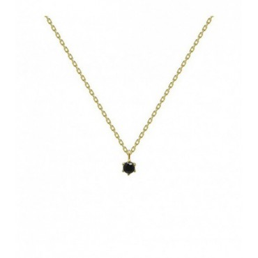 Collar Black Holiday Gold P D Paola