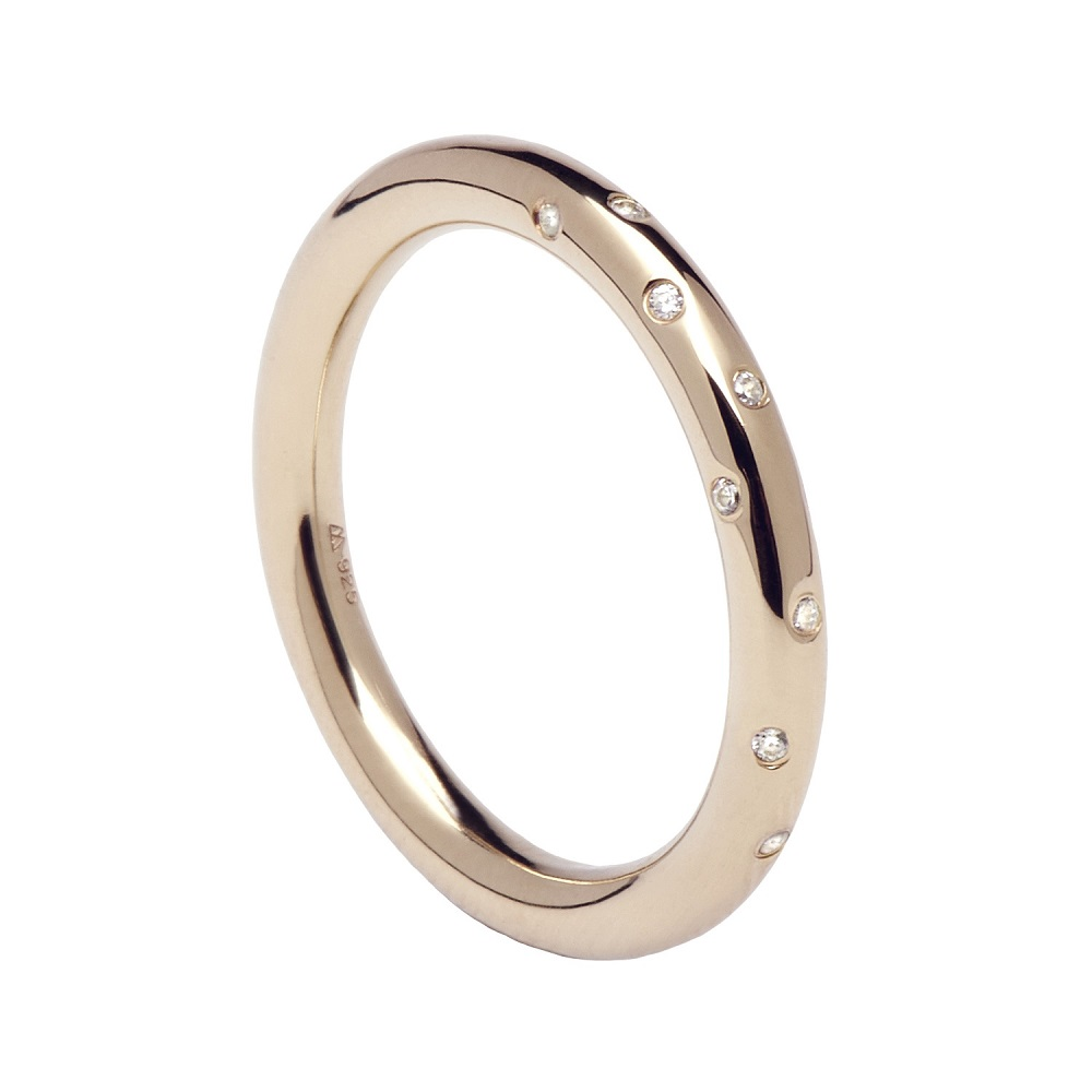 Anillo Satellite Rose Gold P D Paola