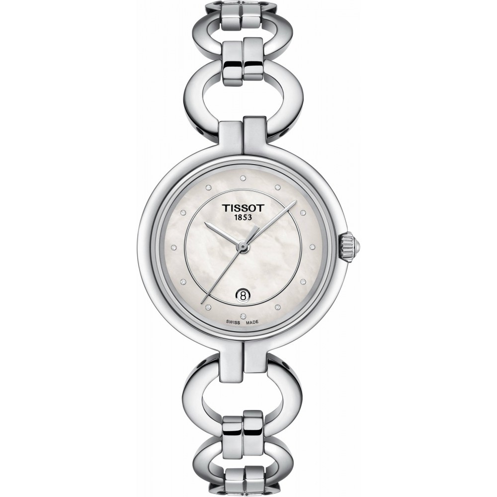 Reloj Tissot Flamingo con diamantes