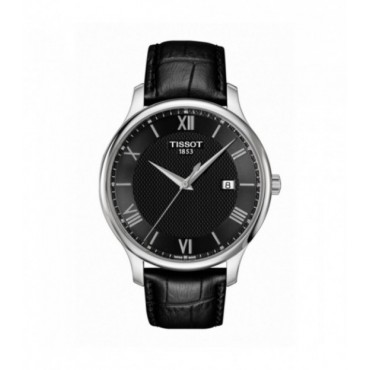Reloj Tissot Tradition color negro