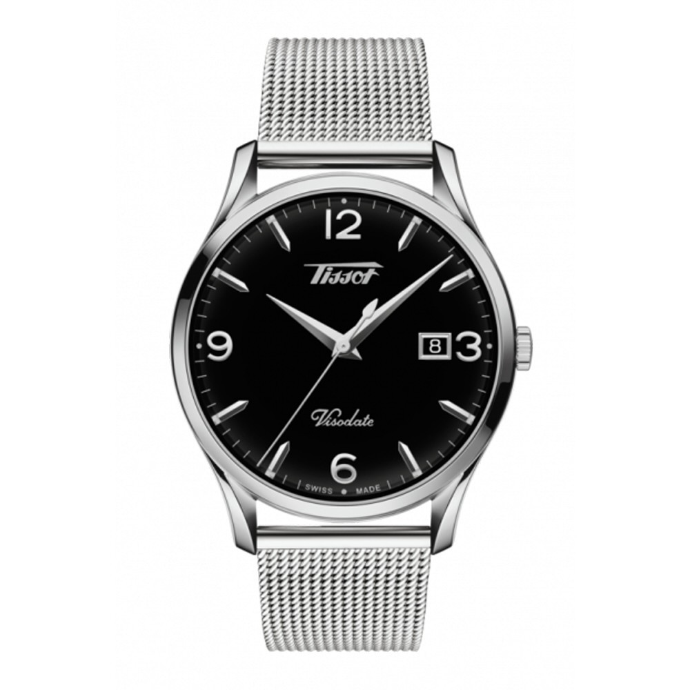 Reloj Tissot Heritage Visodate con malla milanesa