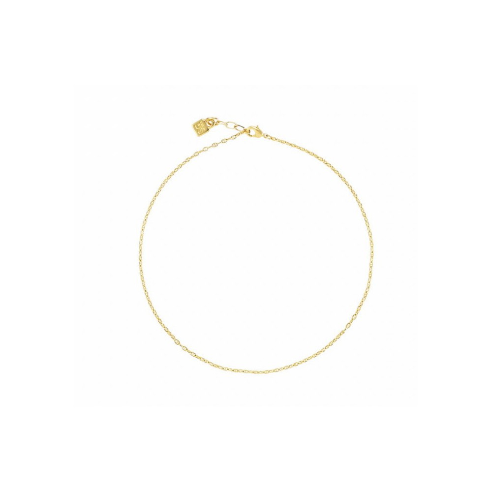 Cadena chocker Gold UNOde50