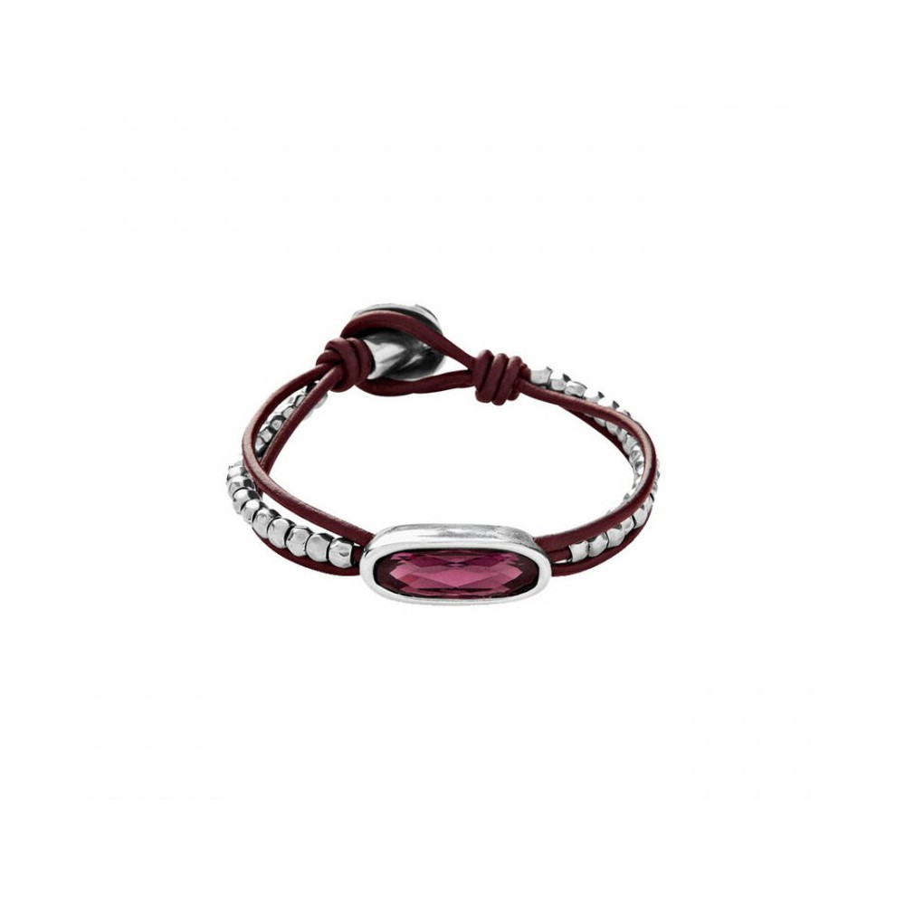 Pulsera THE TRIBE con Svarovski amatista