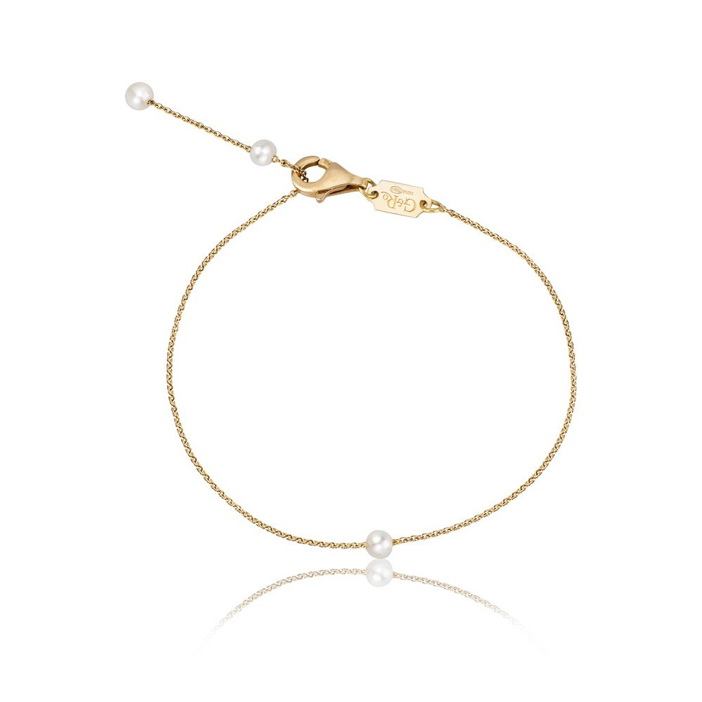 Pulsera Drop Gold&Roses