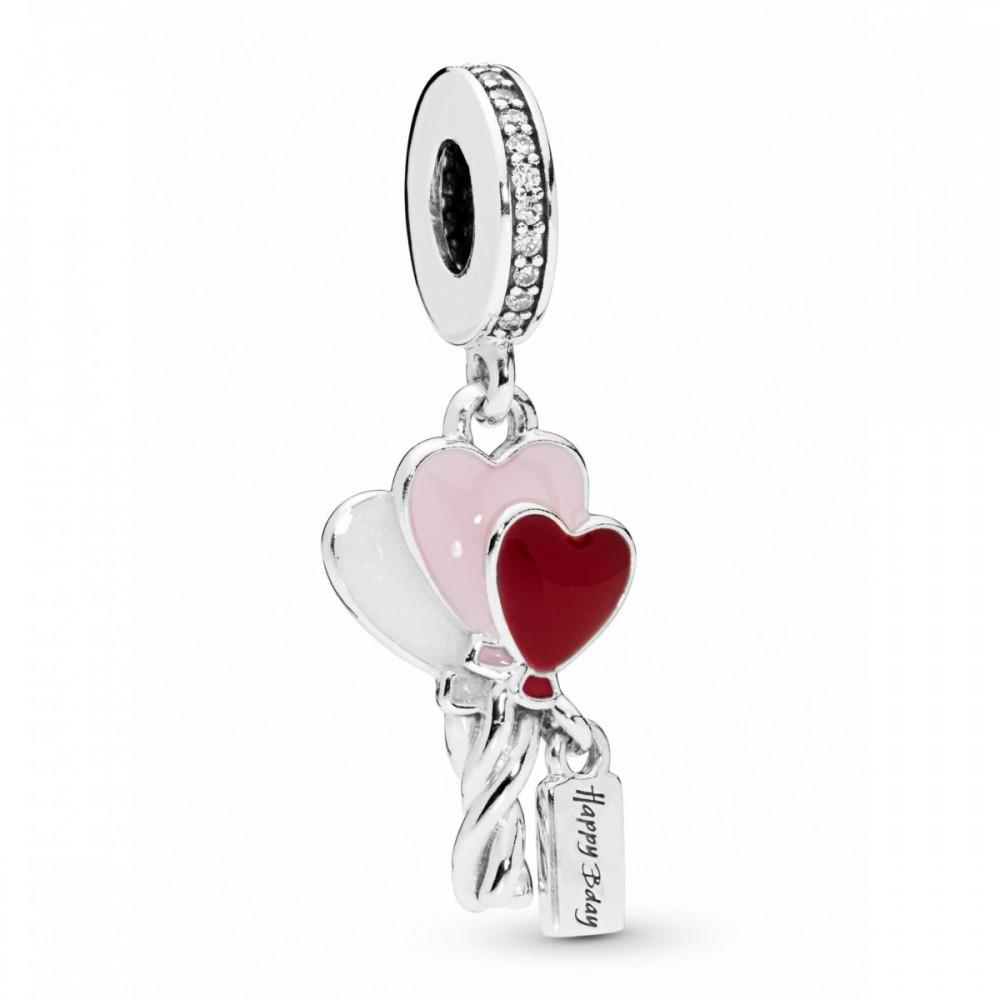 Charm Pandora Globos de Corazón