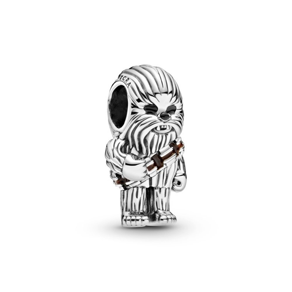 Star Wars Chewbacca sterling silver char