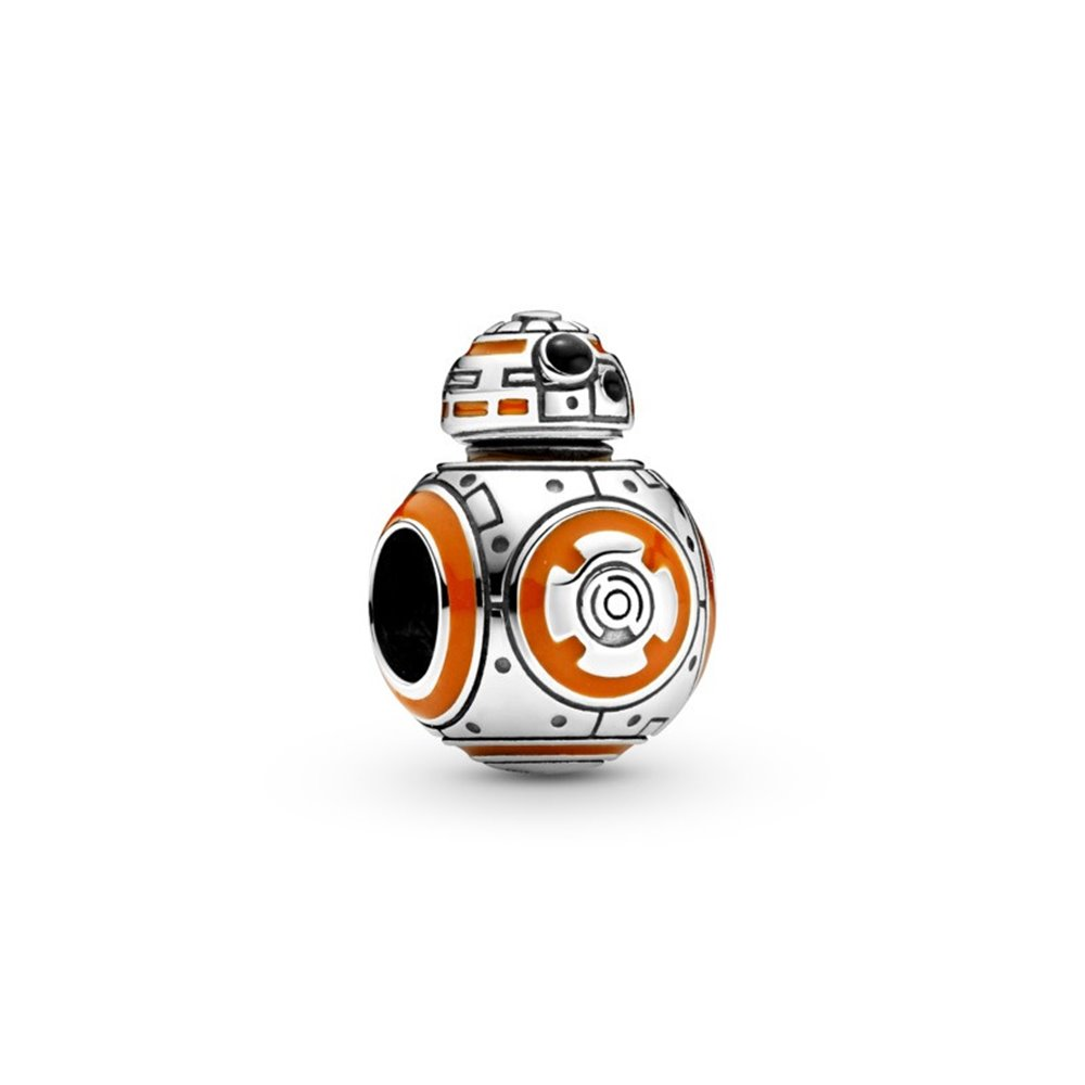 Star Wars BB8 sterling silver charm with