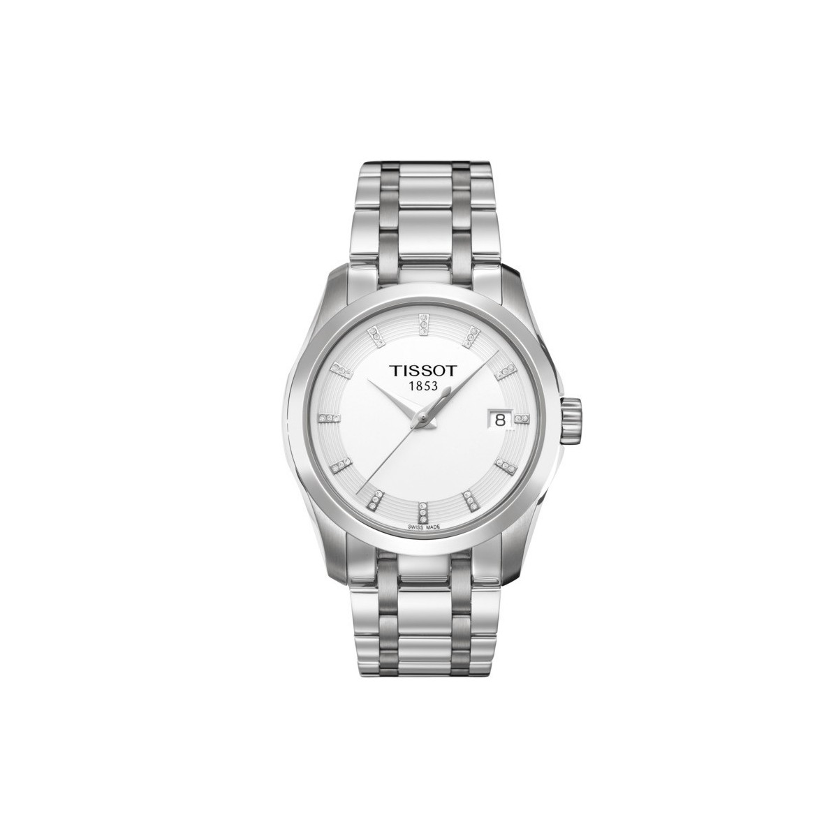 0838a336bbb1 Reloj para mujer TISSOT ⌚ Couturier Lady en acero inoxidable